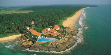 Aerial View of Saman Villas, Induruwa, Bentota, Sri Lanka