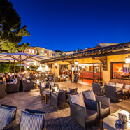 Terrace Dine at Hotel Byblos Saint Tropez, Saint Tropez, France