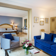 Deluxe Suite at Hotel Byblos Saint Tropez, Saint Tropez, France