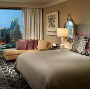 King Guest Room At The Omni Nashville Hotel Tn
