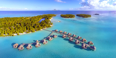 Overwater Villas at Le Taha'a Island Resort & Spa, Taha'a, French Polynesia