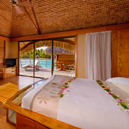 Overwater Suite at Le Taha'a Island Resort & Spa, Taha'a, French Polynesia