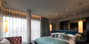 Deluxe Guest Room at Fitzwilliam Hotel Belfast, Ireland