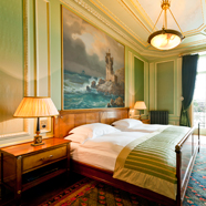 Guest Room at Grand Hotel Les Trois Rois, Basel, CH, Switzerland