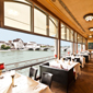 Dine with Views at Grand Hotel Les Trois Rois, Basel, CH, Switzerland