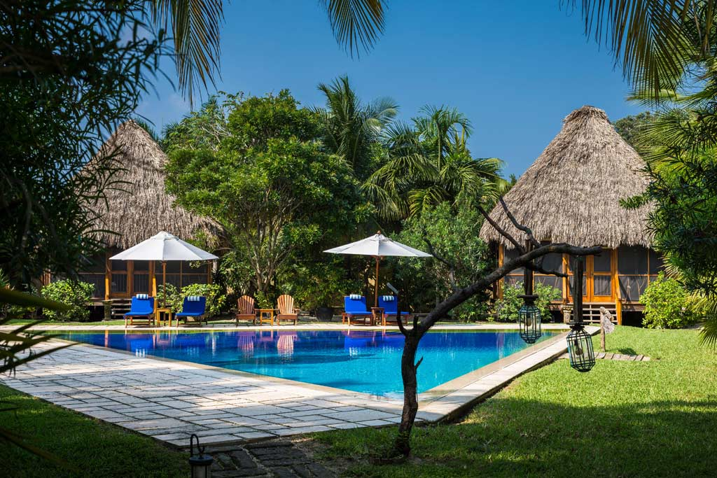 Outdoor Pool at Turtle Inn, Stann Creek District, Belize