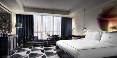 Guest Room at Bisha Hotel Toronto, Canada