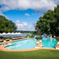 Outdoor Pool at Royal Livingstone Hotel, Livingstone, Zambia