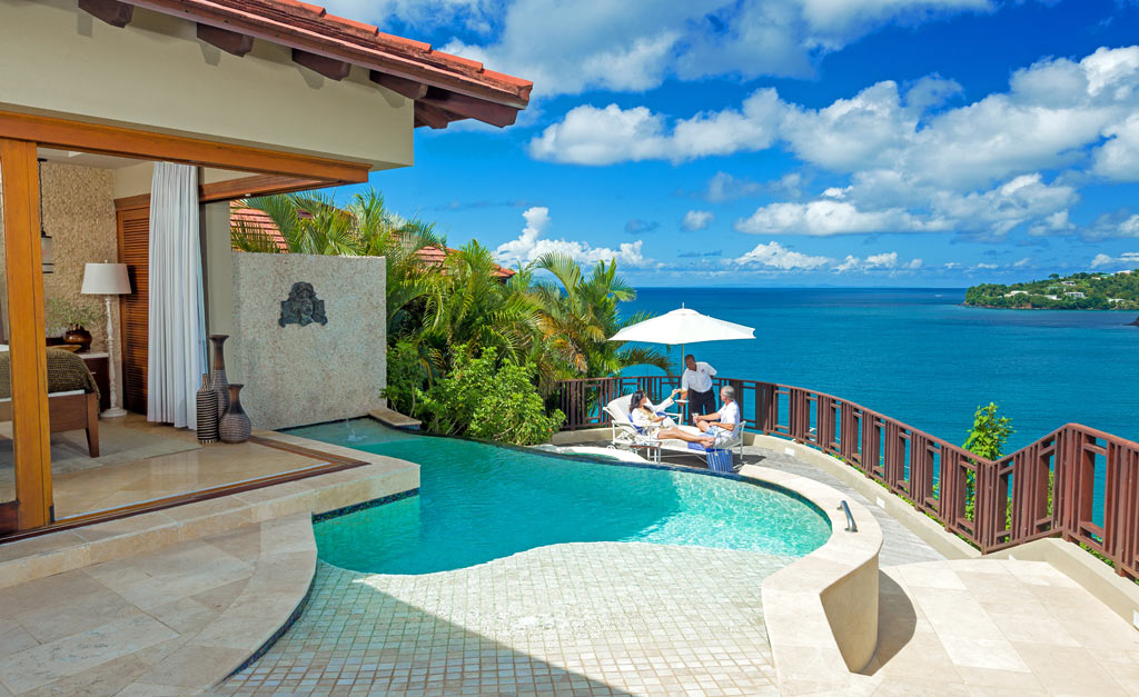Millionaire Suite at Sandals Regency La Toc, Castries, Saint Lucia