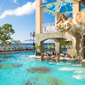 Bluffs Pool at Sandals Regency La Toc, Castries, Saint Lucia