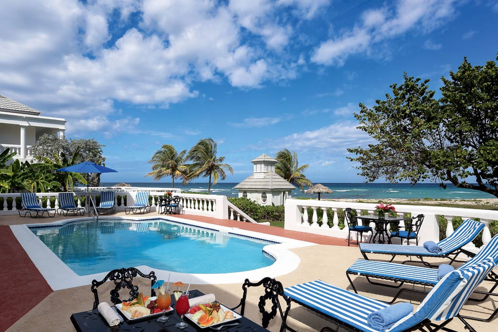 Half Moon villas each come with a private pool butler and housekeeper, Montego Bay, St. James, Jamaica