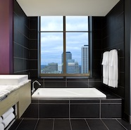 W Hotel Minneapolis The Foshay Fantastic and Marvelous Suite Bath