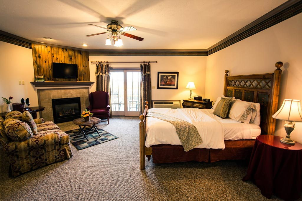 Guest Room at The French Manor, South Sterling, PA