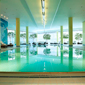 Indoor Pool at Hilton Munich Airport, Germany