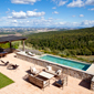 Outdoor Pool with Views at Rosewood Castiglion del Bosco, Montalcino, Italy