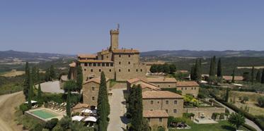 Castello Banfi - Il Borgo, Montalcino, Siena, Italy