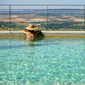 Outdoor Pool at Castello Banfi - Il Borgo, Montalcino, Siena, Italy