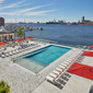 Outdoor Pool at Sagamore Pendry Baltimore, Baltimore, MD