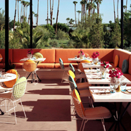 Terrace Lounge at Parker Palm Springs, Palm Springs, CA