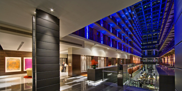 Lobby of InterContinental Melbourne The Rialto, Melbourne, Australia