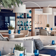 Dine and Lounge at  Myconian Ambassador Hotel and Thalasso Spa , Mykonos, Greece