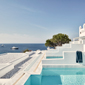 Sea Views From Hotel Myconian Ambassador Hotel and Thalasso Spa , Mykonos, Greece
