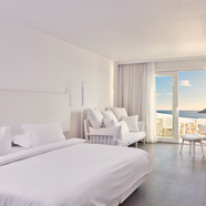 Superior Jacuzzi Suite at Royal Myconian Resort and Thalasso Spa, Mykonos, Greece