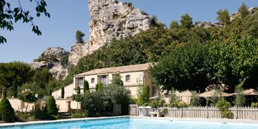 Outdoor Pool at Oustau De Baumaniere, Les Baux de Provence, France