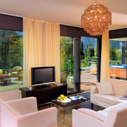 Penthouse Suite at Du Lac et Du Parc Grand Resort, Riva Del Garda, Trento, Italy