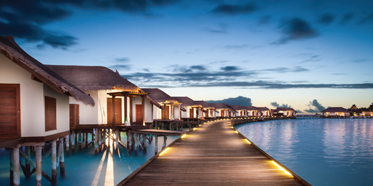 Water Villas with Pools at Jumeirah Vittaveli, South Male Atoll, Maldives