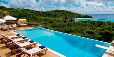 Five Bedroom Residence Outdoor Pool at Canouan Estate, West Indies, Saint Vincent and The Grenadines