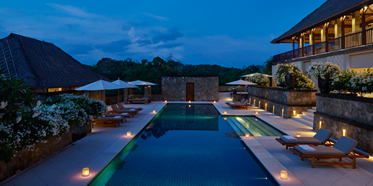 Four Bedroom Villa at Aman Villas at Nusa Dua, Bali, Indonesia