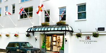 Duke of Richmond Hotel, Guernsey, Channel Islands, United Kingdom