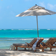 Beach Lounge at Petit St. Vincent, St. Vincent, St. Vincent and The Grenadines, Saint Vincent and The Grenadines