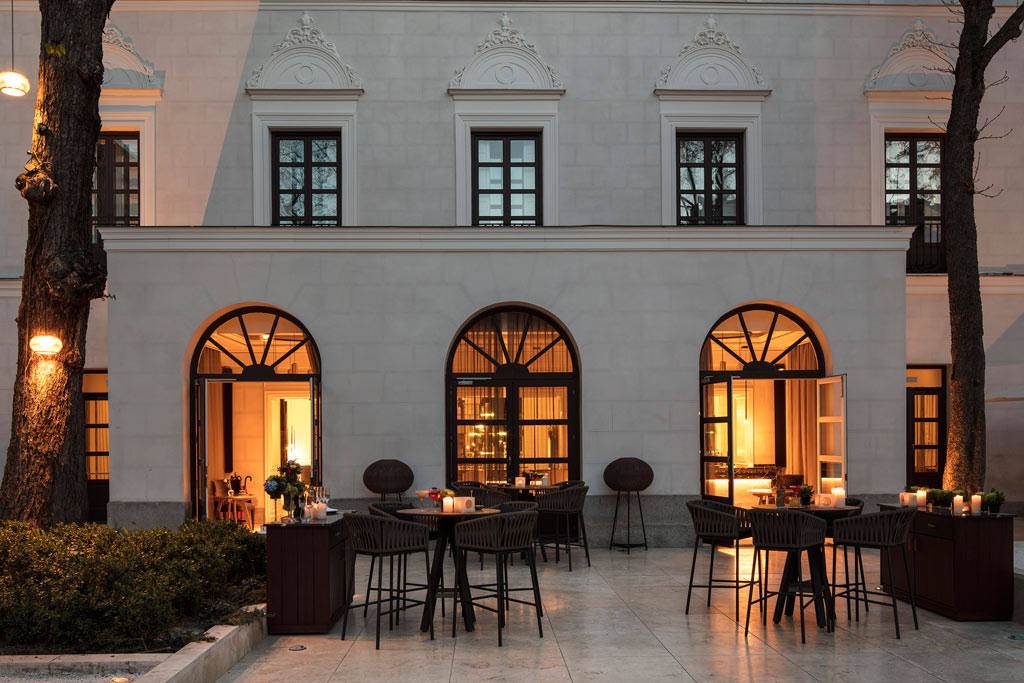 Coroa Restaurant at Gran Melia Palacio de los Duques, Madrid, Spain