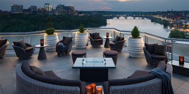 Terrace Lounge at The Watergate Hotel, Washington, DC