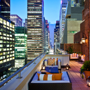 Hammerstein Penthouse Terrace at Omni Berkshire Place New York, United States