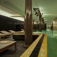 Indoor Pool at Rocco Forte Hotel de Rome, Berlin, Germany