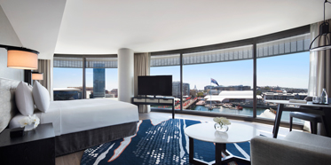 Breathtaking Suite Views at Hyatt Regency Sydney, NSW, Australia