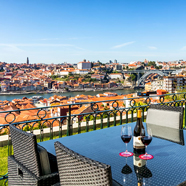 Terrace Dine at The Yeatman, Portugal