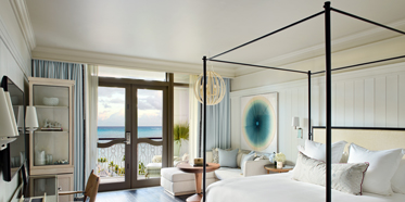 King Guest Room at Rosewood Baha Mar, Nassau, Bahamas