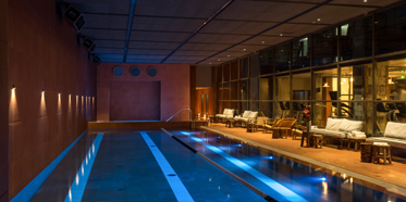 Indoor Pool at Brach Paris, France