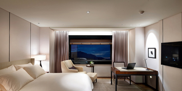Deluxe Double Guest Room at The Shilla Seoul, Korea