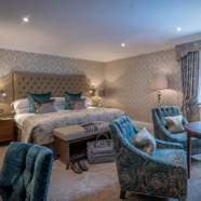 Queen Anne Guest Room at Dromoland Castle Hotel, County Clare, Ireland