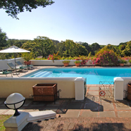 Outdoor Pool at The Cellars-Hohenort, Cape Town, South Africa