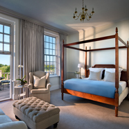 Luxury Double Guest Room at The Cellars-Hohenort, Cape Town, South Africa