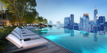 Outdoor Pool at Park Hyatt Bangkok, Thailand