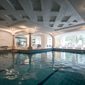 Indoor Pool at Rosa Alpina, Badia BZ, Italy