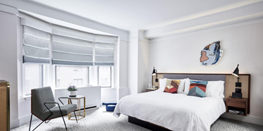 Deluxe King Guest Room at The James New York - NoMad, New York