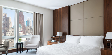 Deluxe Guest Room at The Langham, New York, Fifth Avenue,  New York